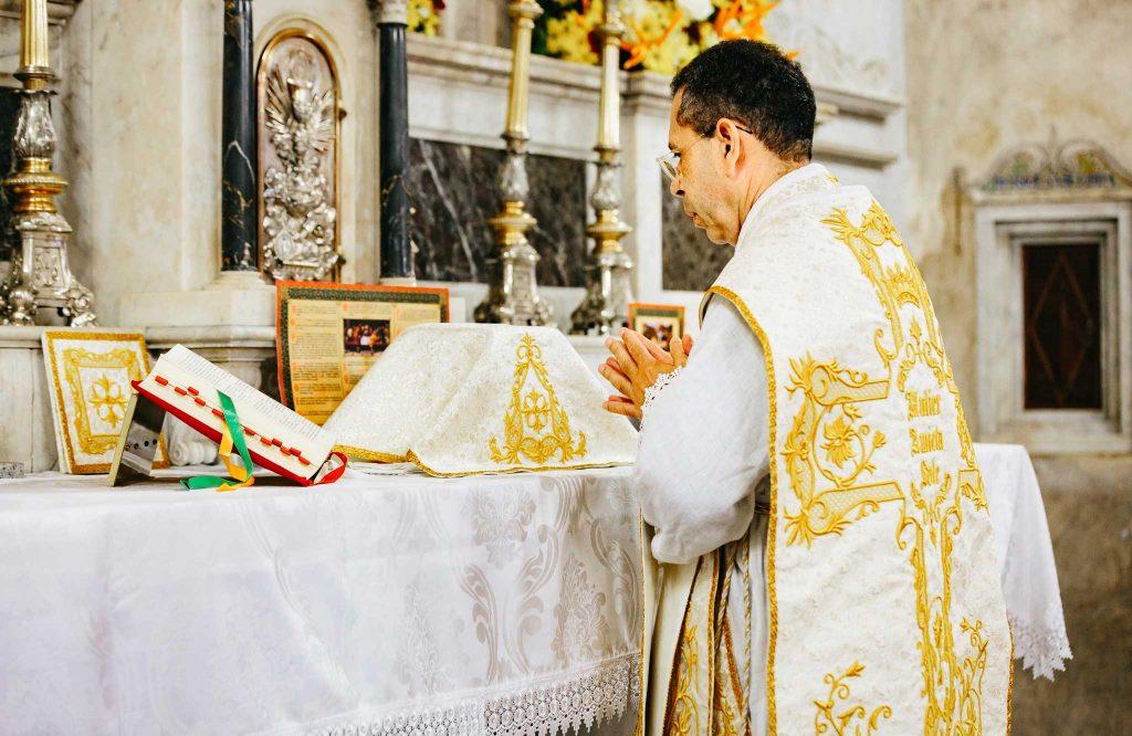 Visita do Vigário Geral da Adm. Apostólica