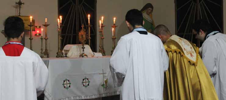 Retiros com Missa Tridentina em Manaus