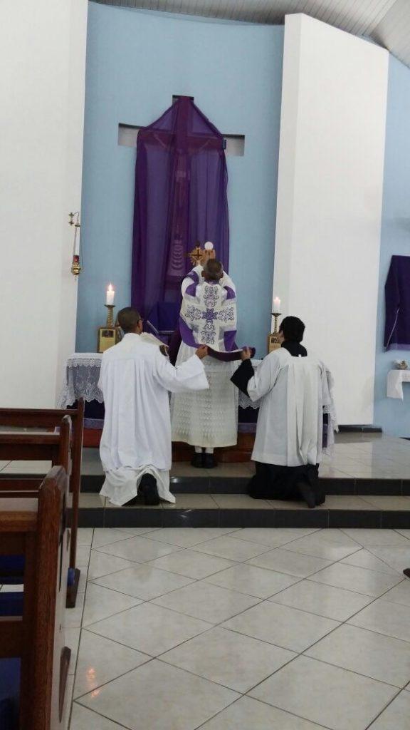 Primeira Missa Pública autorizada pelo Arcebispo