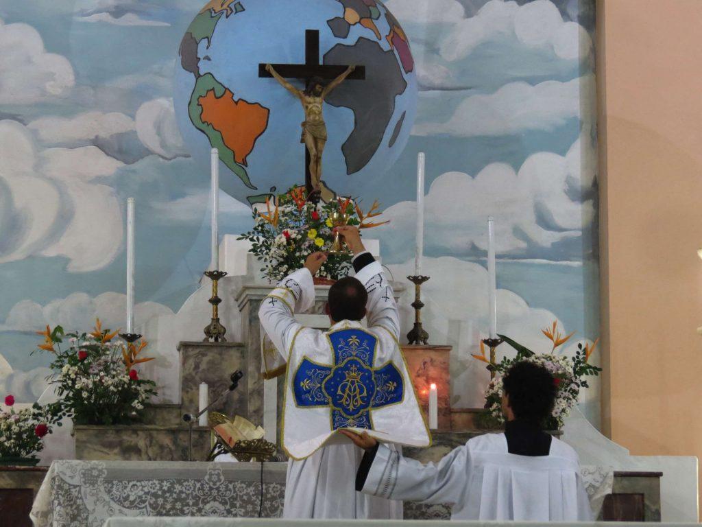 A Missa volta a ser celebrada em Manaus